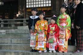 Shichigosan festival in Japan